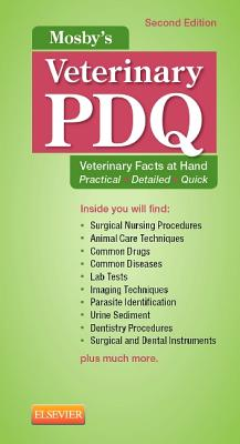 Mosby's Veterinary Pdq By Sirois, Margi